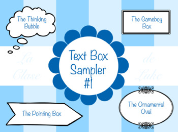 Text Box Sampler 1