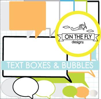 Text Boxes & Bubbles