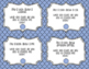 Library Skills: Text Clues Task Cards