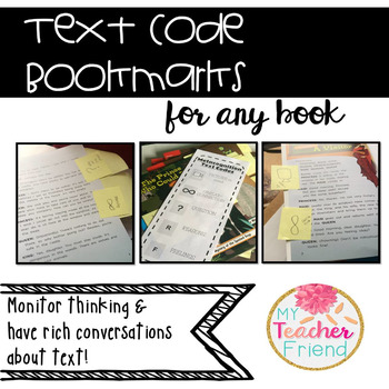 Text Code Bookmarks for ANY book