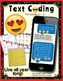 Text Coding with Emojis (No Prep)