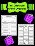 Nonfiction Text Comparison Graphic Organizers