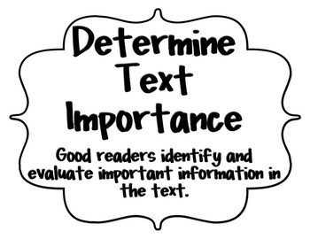 Text Comprehension & Metacognitive Strategy Posters!