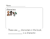 Text Comprehension Skills - Characters of a Story