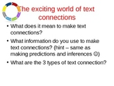 Text Connection Overview