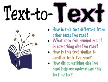 Text Connection Posters: Text to Text