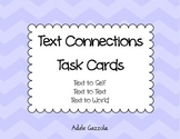 Text Connection Task Cards