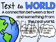 Reading Text Connection Worksheets, Posters & Bookmarks