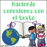 Text Connection in Spanish (Haciendo conexiones con el texto)