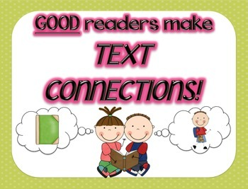 Text Connections Anchor Chart