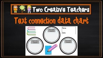 Text Connections Data Chart for Students