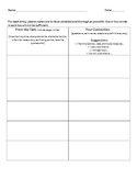 Text Connections Graphic Organizer Common Core Close Reader