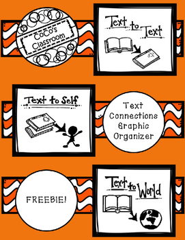 Text Connections Graphic Organizer FREEBIE