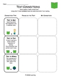 Text Connections Graphic Organizer - Universal