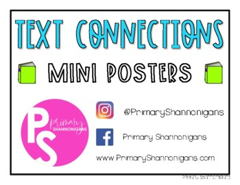Text Connections Mini Posters