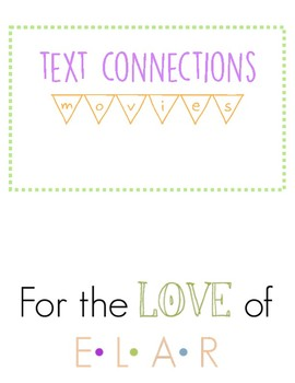 Text Connections: Movies