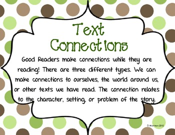 Text Connections Poster Set: Triple Pack!
