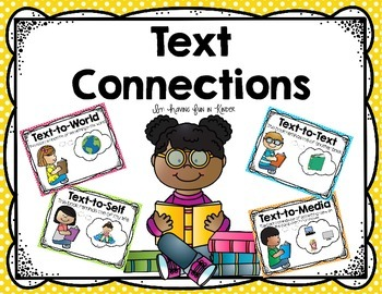 Text Connections Posters with Read & Respond Sheets