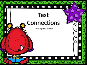 Text Connections Worksheet