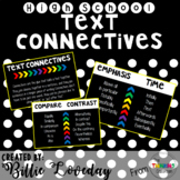 Text Connectives Poster Set