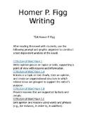 Text Dependant Anallysis for Homer P. Figg