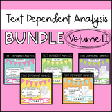Text Dependent Analysis - Bundle of Passages, Prompts and Questions - V2