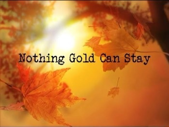 """Poetry TDA """"Nothing Gold Can Stay"""" & """"The Christmas Cactus"""""""