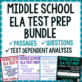 Text Dependent Analysis (TDA) Practice Packets ~ Bundle