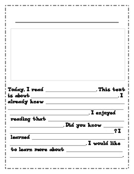 Text-Dependent Graphic Organizers for Close Reading