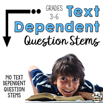 Reading Test Prep Text Dependent Question Stems