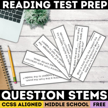 Text Dependent Question Stems (SBAC)