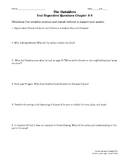 The Outsiders Text Dependent Questions Ch 3-4