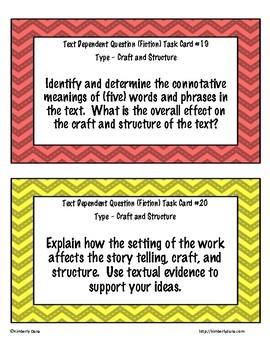 Text Dependent Questions (Fiction and Nonfiction) Bundle