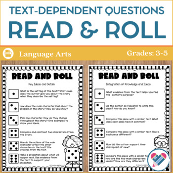 Text-Dependent Questions Read and Roll