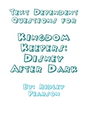 Text Dependent Questions for Kingdom Keepers: Disney After Dark