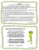 Spring by Arnold Lobel: Text-Dependent Questions and Worksheet