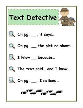 Text Detective