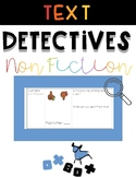 Text Detectives! A Wit and Wisdom Center