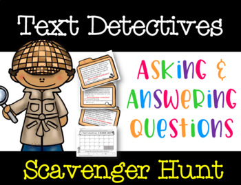Text Detectives: Asking and Answering Questions Game (FREE Video in Description)