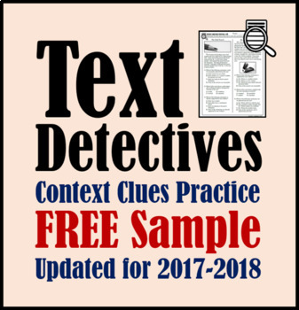 Text Detectives FREE Sample