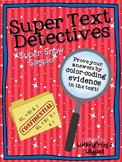 Text Detectives- Find the Text Evidence Super Snow Sampler!