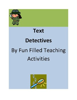 Text Detectives- Improve Student Comprehension and Test Ta