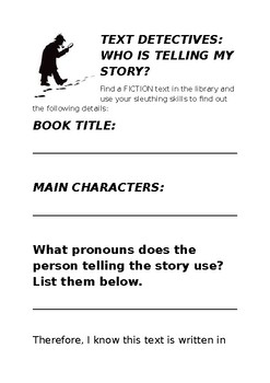 Text Detectives: Point of View