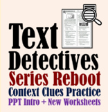 Text Detectives (Series Reboot)