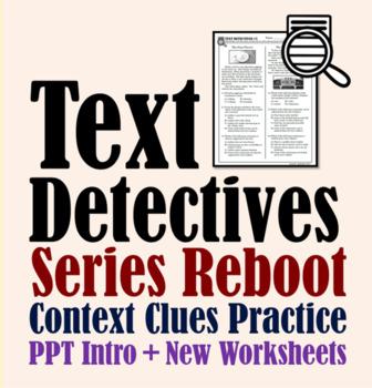 Text Detectives (Series Reboot)
