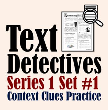 Text Detectives Set 1