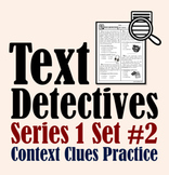 Text Detectives Set II