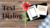 Lesson Plan Text Dialog Task (NO PREP NECESSARY)