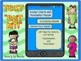 """Text """"Edit Kit""""- A Fun Text Editing Activity for Good Text """"Etiquette"""""""