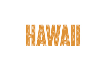 Text Effect - Hometown Vintage #2 (Hawaii)